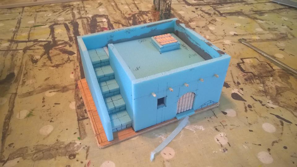 Wargames buildings using Styrofoam – Göaterdämmerung