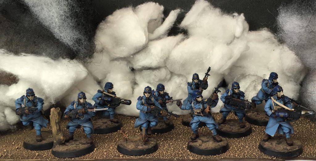 Veteran assault section
