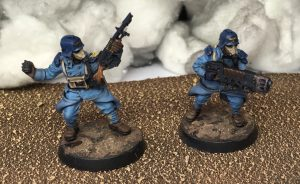 Sergeant and Meltagun support specialist