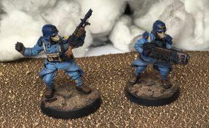 Sergeant and Meltagun support specialist