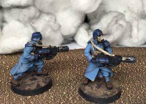 Meltagun heavy weapons team